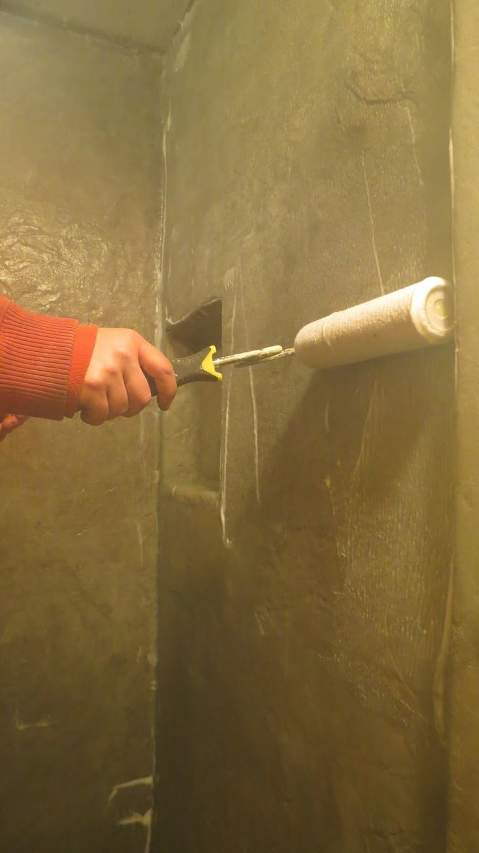 Mellish Fields West: Making a Concrete Shower