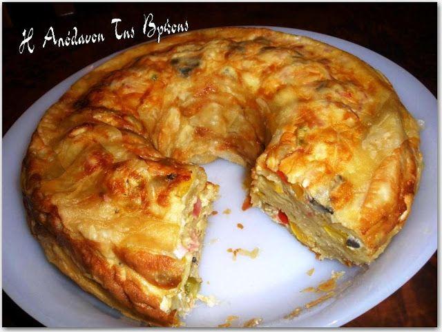 Η απόλαυση της βρώσης: Πίτα κουλούρα γεμάτη χρώμα