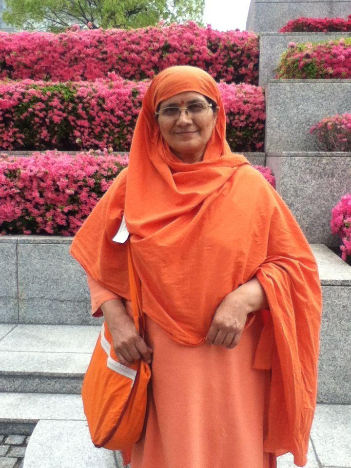 Best Latest Original Sadhvi Abha Saraswati Ji HD Images for free download