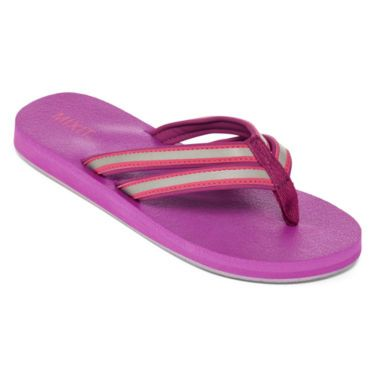 Mixit™ Double Strap Reflective Thong Sandals - JCPenney