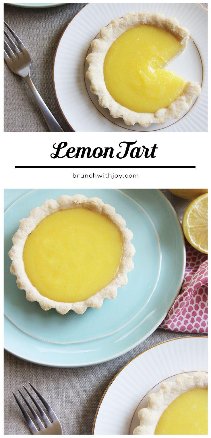 Save a taste of summer and enjoy this easy peasy sunny lemon tart #SundaySupper