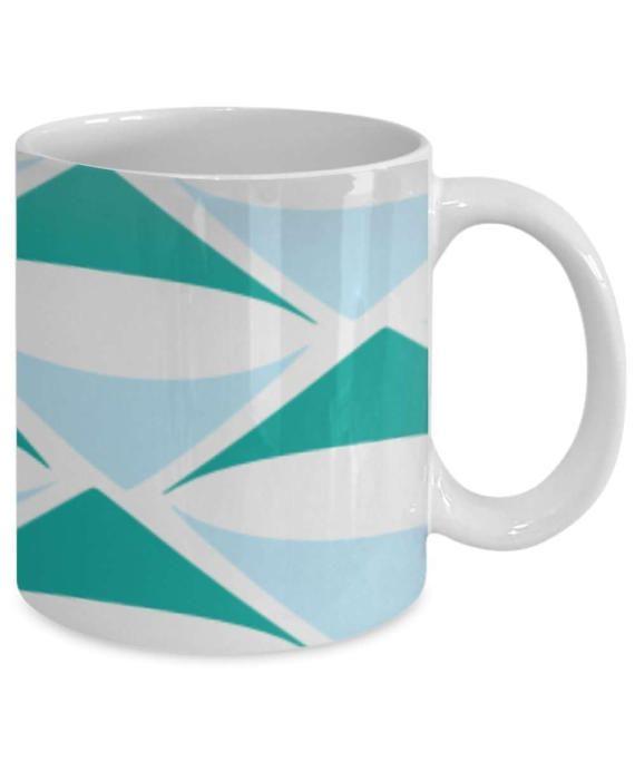 Items Similar To Turquoise Light Blue Lampshade Mug By Freshness Printing  On Etsy Photo