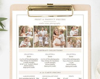 The 25 best photography price list ideas on pinterest photography pricing template photography price list template photographer pricing template photography pricing guide pronofoot35fo Gallery