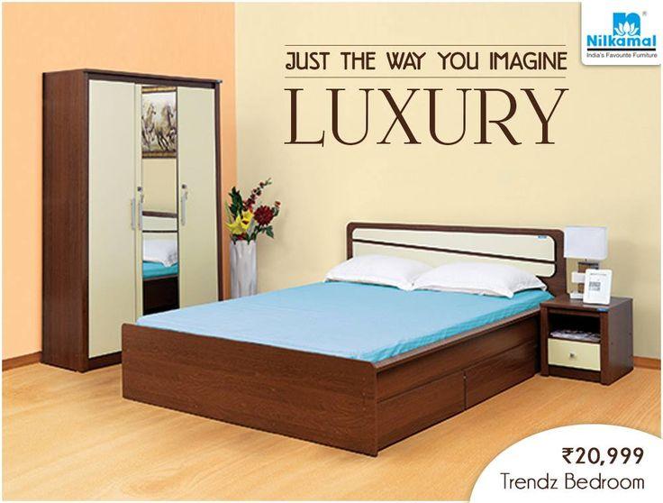 Let The Comfort Meet Elegance With Our Super Stylish Trendz Bedroom Set