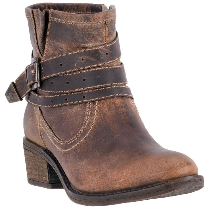 Dingo Women's Shortie Bay Ridge Cowgirl Boots - HeadWest Outfitters