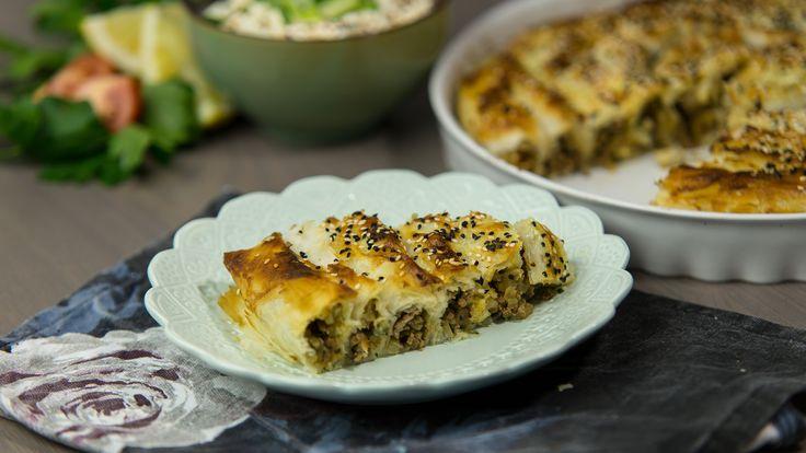 Börek är en slags paj som kan göras på yufka- eller filodeg. Man hittar många olika varianter på börek i Turkiet och även i Balkanländerna. Den kan variera i både form och vilken typ av fyllning man har i, men det mest klassiska är dock köttfärsfyllning eller spenat med fetaost.