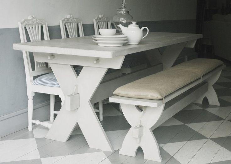 Farmers Feast Scandinavian Dining Table