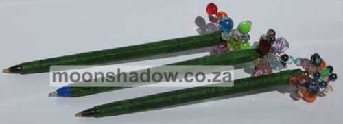 """""""Bling"""" pens handcrafted at Moonshadow Gift Shop"""