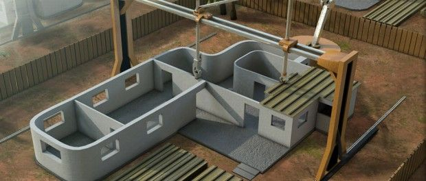 3d printing houses is possible to accomplish with 3d printing in the future, and it can help. http://www.thevoltreport.com/3d-printing-houses-with-giant-3d-printers/