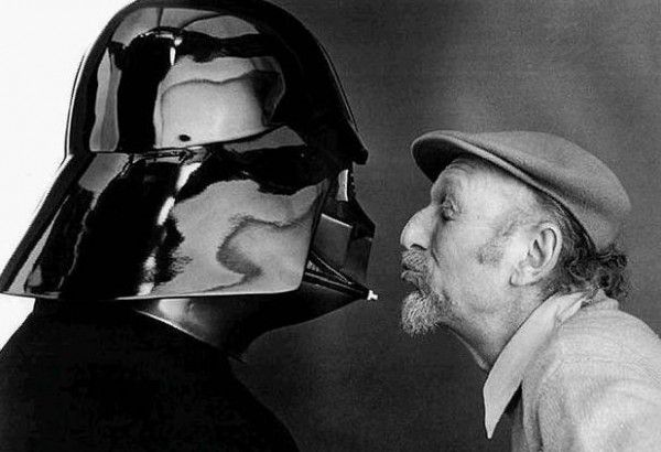 Rare Behind the Scenes Photos of 'Star Wars'