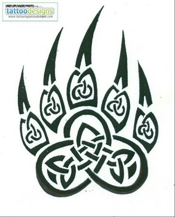 Celtic claw tat