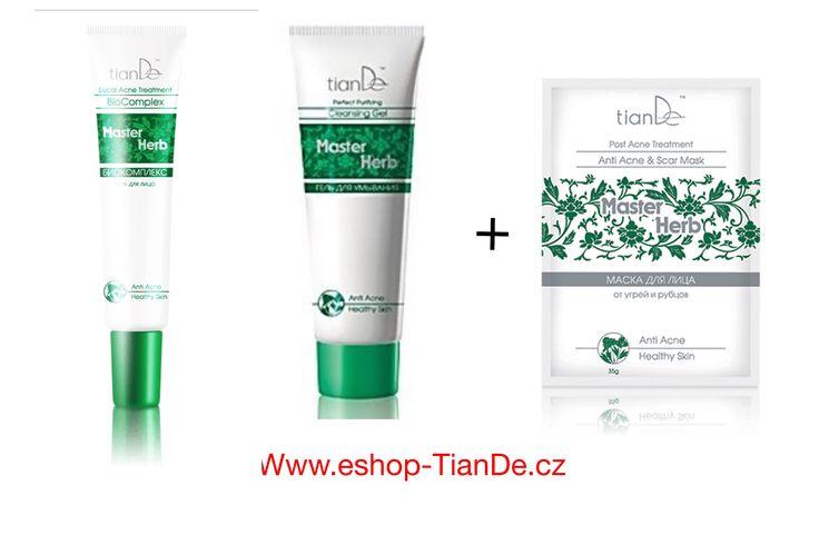 AKCE Čistící gel proti akné + BIOKOMPLEX na akné a jizvy + maska- 15,4 bodů  http://tiandevasezdraviakrasa4.webnode.cz/