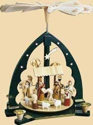Weihnachtspyramide  Nativity