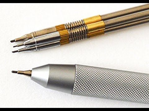 The Best Mechanical Pencil for Drawing: Tutto3 by ArtistLeonardo