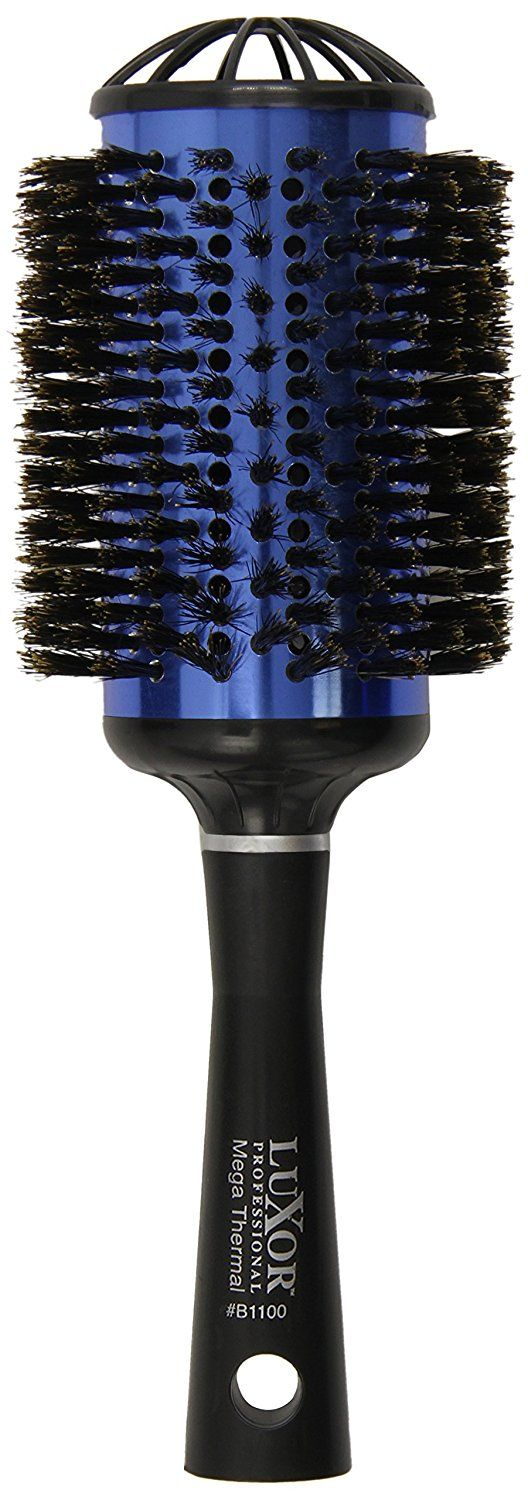 Luxor Thermal Vented Sapphire Collection - Mega Boar Brush / 3.5' (B1100) * Visit the image link more details.