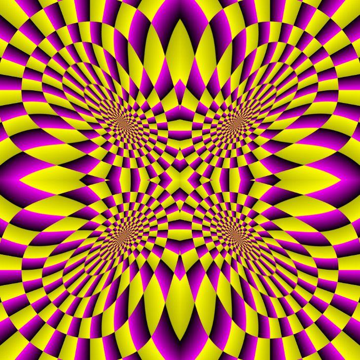 Оптические иллюзии Акиоши Китаока (24 фото)