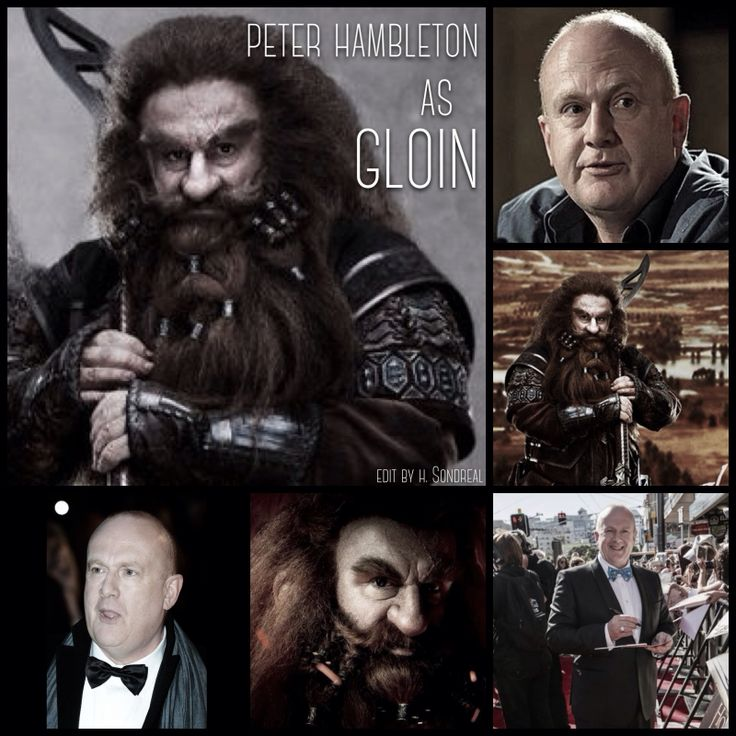 Peter Hambleton as Gloin by Heather Sondreal