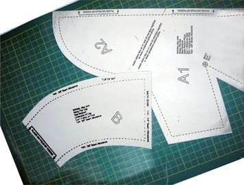 free pattern for surgical hats for women | Sewing Unequal Angles and Curves