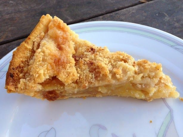 Dutch Apple Pie. One of the best dutch apple pies you'll eat! #desserts #dessertrecipes #yummy #delicious #food #sweet