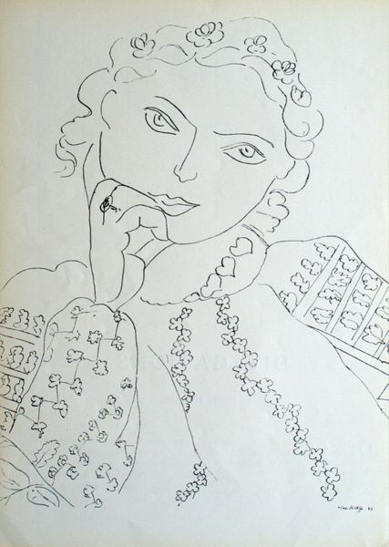 The Romanian Blouse, one of a series by Matisse