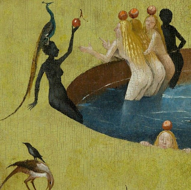 The Garden Of Earthly Delights, Hieronymus Bosch, 1490 - 1510  From  equalityandthecity at Imagediver