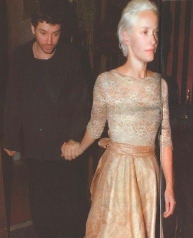 Michael Hutchence and Paula Yates