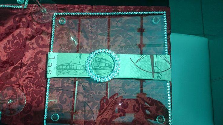 Airhostess compass napkins