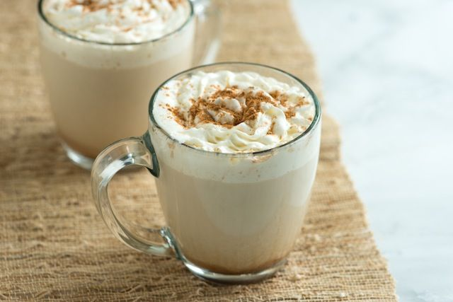 YES! homemade pumpkin spice latte. MADE. used coconut milk and extra pumpkin! YUM! not as light as picture.