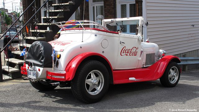 1927 Ford - Coca-Cola | Flickr – FOLLOW THIS BOARD FOR GREAT COKE OR ANY OF OUR OTHER COCA COLA BOARDS. WE HAVE A FEW SEPERATED BY THINGS LIKE CANS, BOTTLES, ADS. AND MORE...CHECK 'EM OUT!! Anthony Contorno Sr