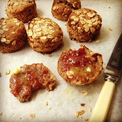 A healthier version of the humble scone using a wholemeal spelt flour. Heavenly flavours of honey and dates with a touch of spice.  Made with #Thermomix #dairyfree #sugarfree, #healthy #nutrition #scones #baking #vegan