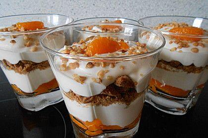 Spekulatius-Mandarinen-Quark-Creme (Rezept mit Bild)   Chefkoch.de