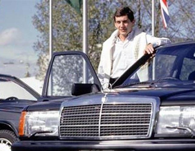 Ayrton Senna (© Daimler archive)