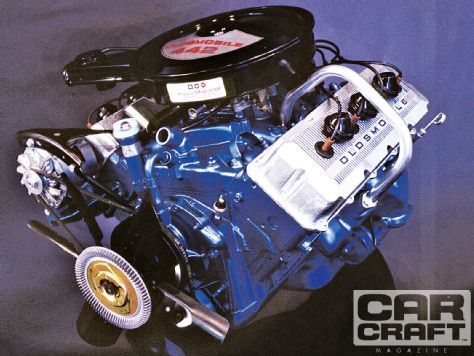 Oldsmobile Hemi Engine - Car Craft Magazine