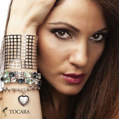 Top to bottom: Guy-ann Bangle | Coralee bracelet | Edith bracelet