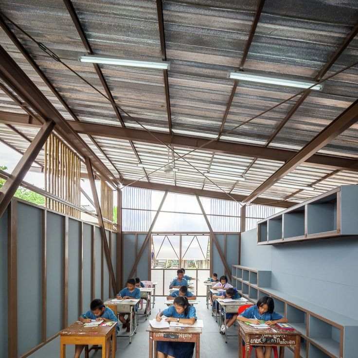 Galería - Escuela Baan Nong Bua / Junsekino Architect And Design - 5