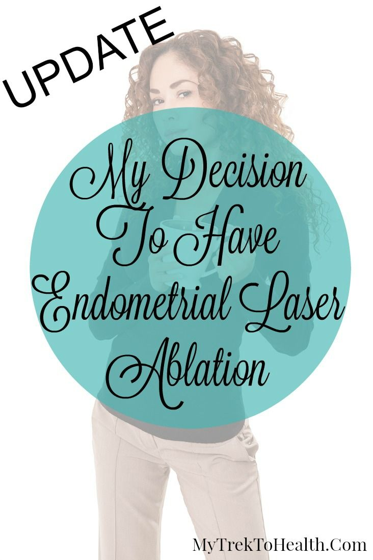 An update now 7 months after endometrial laser ablation