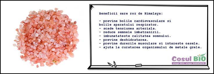 Beneficii sare roz de himalaya: http://www.cosulbio.ro/cumpara/sare-roz-de-himalaya-fina-naturala-483241