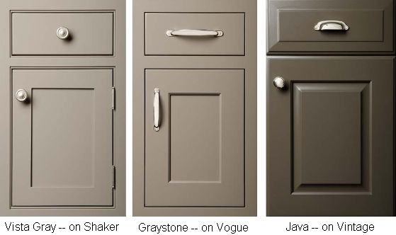 Kitchen & Bath Cabinetry, Advice & Design Blog by Lakeville Kitchen & Bath  fav: middle shade/ right for pull/knob placement