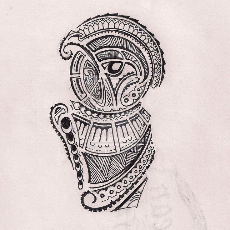 deviantART: More Like Polynesian Tattoo - Bird Of Paradise (Design II) by ~Jay-emm-aye