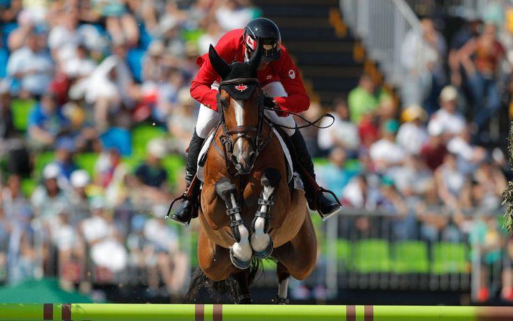 Bronze medal for the hanoverian mare Fine Lady and Canada's Eric Lamaz! Congrates! #rio2016 #showjumping #hanoverian