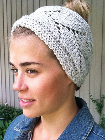 1630 best Diademas images on Pinterest | Punto de crochet, Tricotar ...