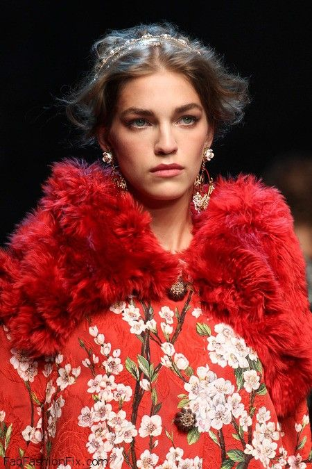 Dolce & Gabbana spring/summer 2014 - Milan fashion week