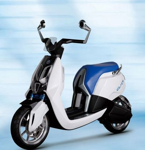 Honda China's other electric scooter concept, the EV-01.