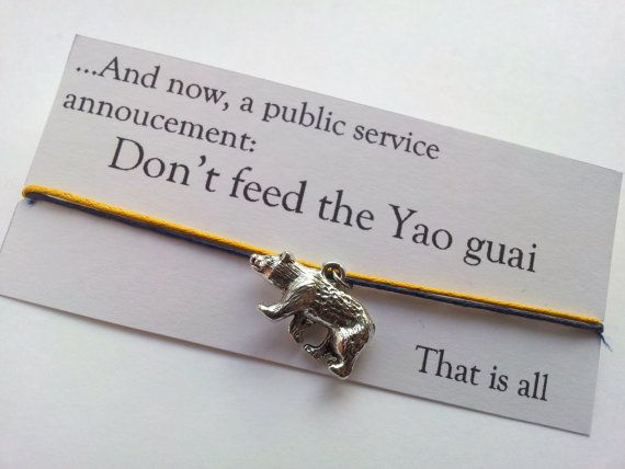 Don't feed the Yao guai Three Dog Fallout 3 by LunaDesigns101, £3.00