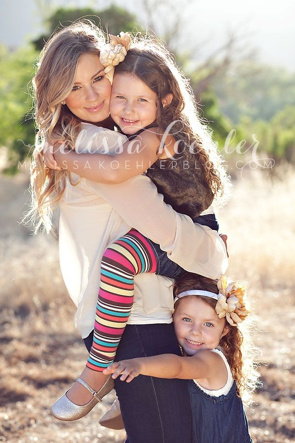 Mother and daughters photo--in love with this