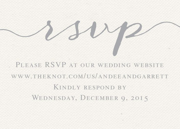The Invitation Maker offers high quality, custom wedding invitations with a unique 1-on-1 experience that can be done entirely online. Check more RSVP card designs at theinvitationmaker.com