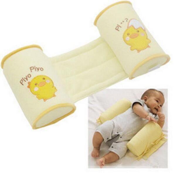1 Piece Comfortable Cotton Anti Roll Pillow Lovely Baby Toddler Safe Cartoon Sleep Head Positioner Anti-rollover Baby Pillow #32