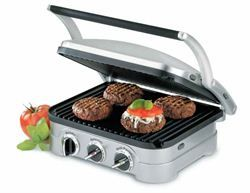Great Christmas Gift Idea - Grill & Panini Presses»Cuisinart Griddler - Chef's Complements