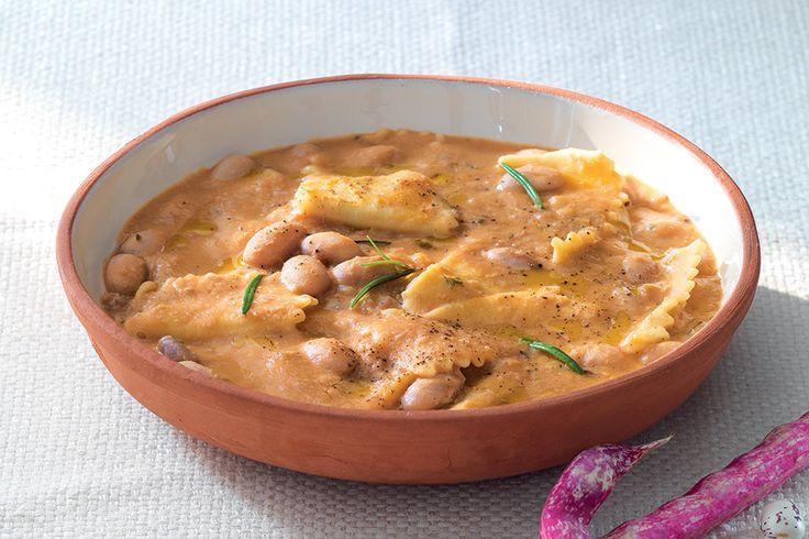 Pasta e fagioli, ricetta classica