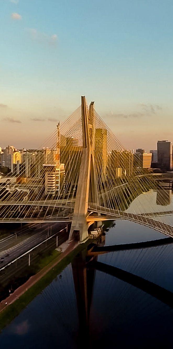 Ponte Estaiada - Sao Paulo - Brasil -  The new board: Everything about São Paulo.
